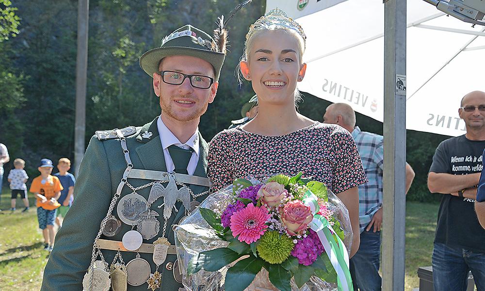 Giacomo van Meegen neuer Balver Schützenkönig