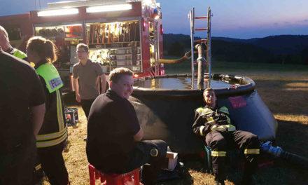 Nach der Nachtschicht kann Balver Feuerwehr verdiente Pause einlegen