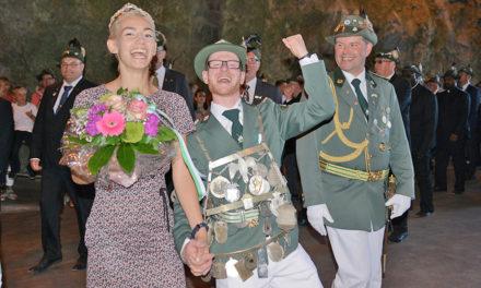 Fotoserie: Balver feiern mit ihrem neuen König Giacomo I.