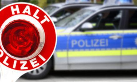 Pkw-Fahrer mit 1,08 Promille im Blut von der Polizei geschnappt