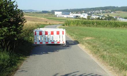 Paukenschlag: Höhle unter dem Wirtschaftsweg in Garbeck