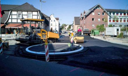 "Nur ""verrückte Verkehrsteilnehmer"" können Bau des Mini-Kreisels verzögern"