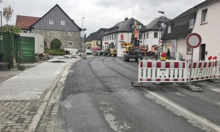 """Baustelle 229: Verkehr fließt schon jetzt durch die """"Kormke"""""""