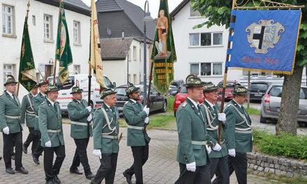 Schützenfest-Abrechnung mit Großem Zapfenstreich
