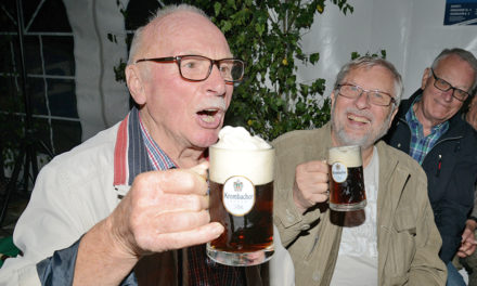 Männerchor Balve sorgt für tolle Einstimmung auf das Stadtfest
