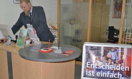 """Aus für Sparkasse Beckum: """"Eiserner Mitarbeiter"""" übernimmt ab Oktober den Service"""