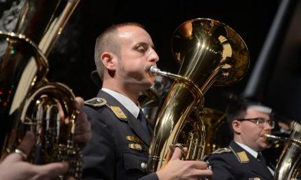 Heute Abend stellt die Egerländerbesetzung des Luftwaffenmusikkorps Münster ihre Klasse in Beckum unter Beweis