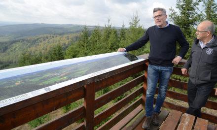 """Tolle Panoramatafel im Balver Wald: """"Das ist ein echter Cortina"""""""