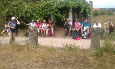 Balver Pilgergruppe grüßt vom Jakobsweg in Santiago de Compostela
