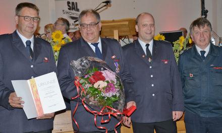 Hohe Auszeichnung: Deutsches Feuerwehr-Ehrenkreuz in Silber für Udo Perschke