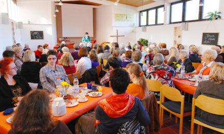 Wer ist beim 9. Ökumenischen Frauenfrühstück dabei?