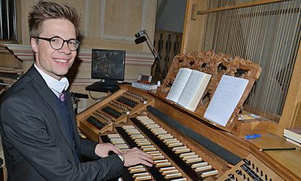 Kirchenmusik: Leuchtturmstelle ist jetzt mit Sympathieträger Maximilian Wolf besetzt