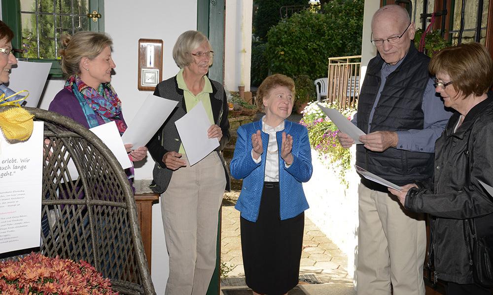 Maria Waltermann Eine Herzensgute Pensions Chefin Feiert Ihren 90
