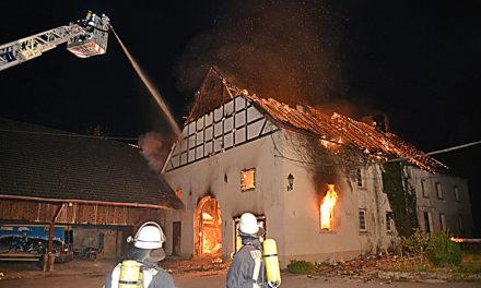 Technischer Defekt ist Ursache für Großbrand in Binolen