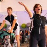 Wahnsinn – 5 Stunden auf Indoor-Cycling-Rad für guten Zweck: 774,20-Euro-Spende