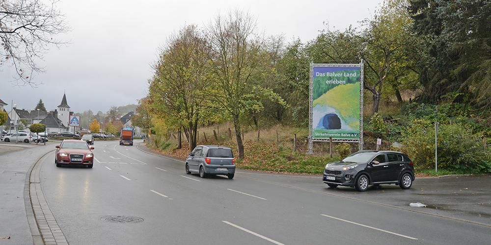 Verkehrsverein Balve verfügt nach schwerer Geburt über eigenen Werbelifter
