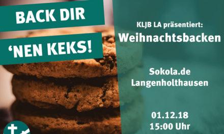 KLJB Langenholthausen lädt alle Kinder zum Weihnachtsbacken und -basteln ein
