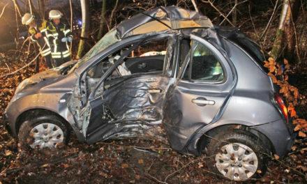 Junge Frau bei Unfall tödlich verletzt