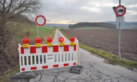 Stadt Balve zieht Reißleine: Verbindungsweg L.A./Garbeck abermals gesperrt