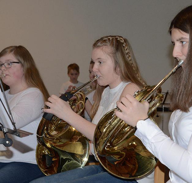 Musikverein stimmt die Beckumer Heiligabend mit Liedern auf Weihnachten ein
