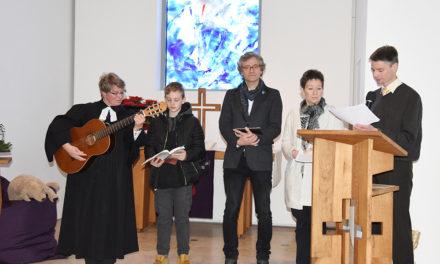 4. Advent: Offenes Wunschlieder-Singen in der Evangelischen Kirche