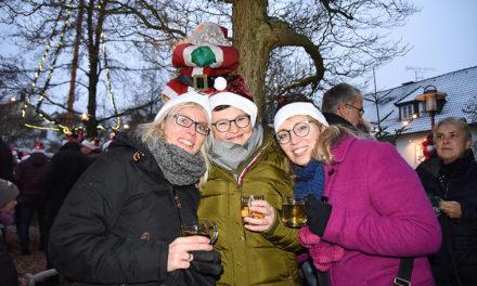 Schwungvolles Finale des sehr schönen Garbecker Weihnachtsmarktes in bunten Bildern