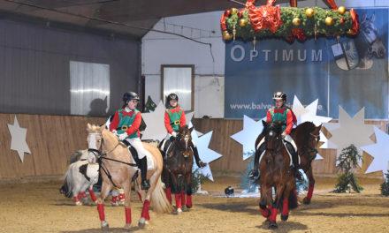 Großartige Reiter-Weihnachtsfeier in bunten Bildern – Teil 1