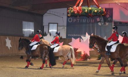 Großartige Reiter-Weihnachtsfeier in bunten Bildern – Teil 2