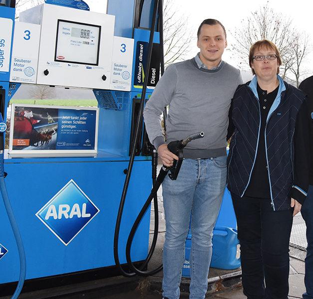Neue Pächterin: Wachwechsel in der Aral-Tankstelle
