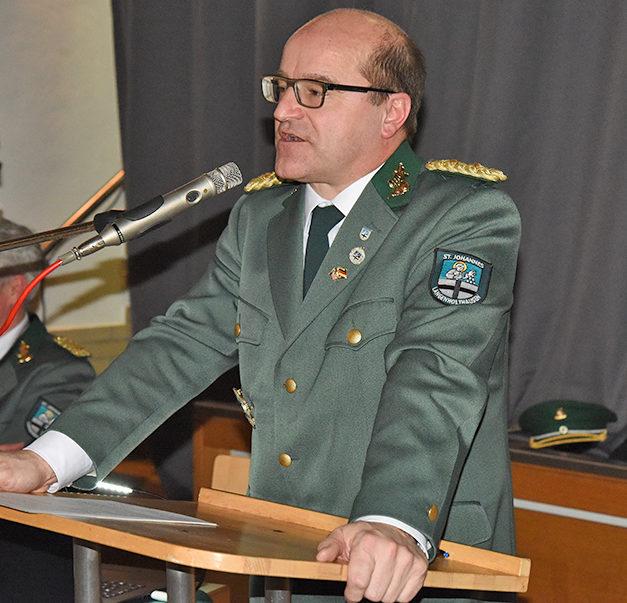 1. Vorsitzender Berthold König mit überwältigender Mehrheit im Amt bestätigt