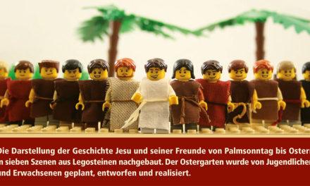 Kolpingsfamilie Garbeck besucht den Lego-Ostergarten