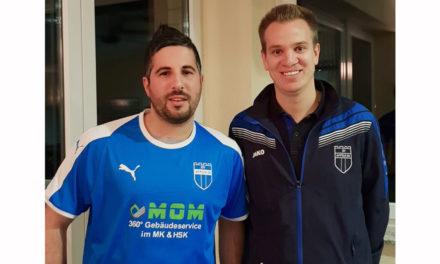 SV Affeln: Dennis Thomèe und Pietro Guerrieri führen zukünftig Regie bei der 1. Mannschaft