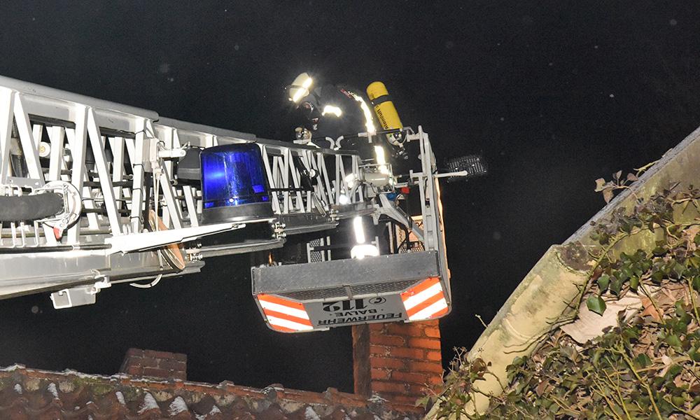 Nächtlicher Einsatz der Balver Feuerwehr in Bildern