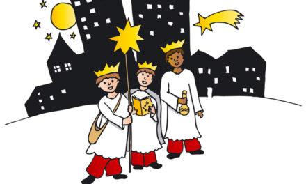 """Die Heiligen Drei Könige sammeln für das """"Projekt Schwester Damian"""""""