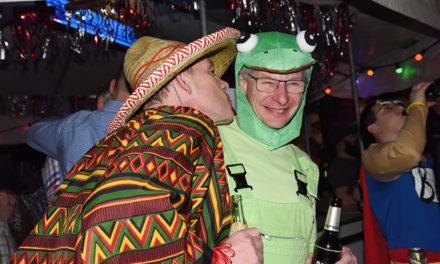 Fantastische Stimmung in der Eisborner Karnevals-Nacht