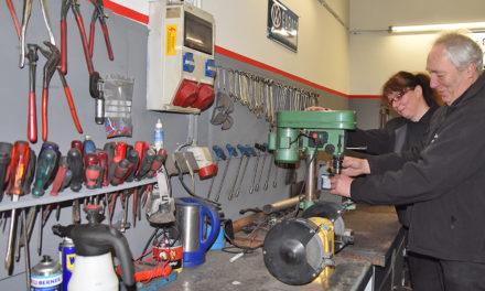 Neueröffnung: Müer Motorenbau mit Meisterwerkstattin der Helle