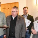 Volksmusikerbund NRW: Hohe Auszeichnung für die Musiker Scholz, Müller und Luig