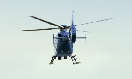 Doppelter Hubschraubereinsatz
