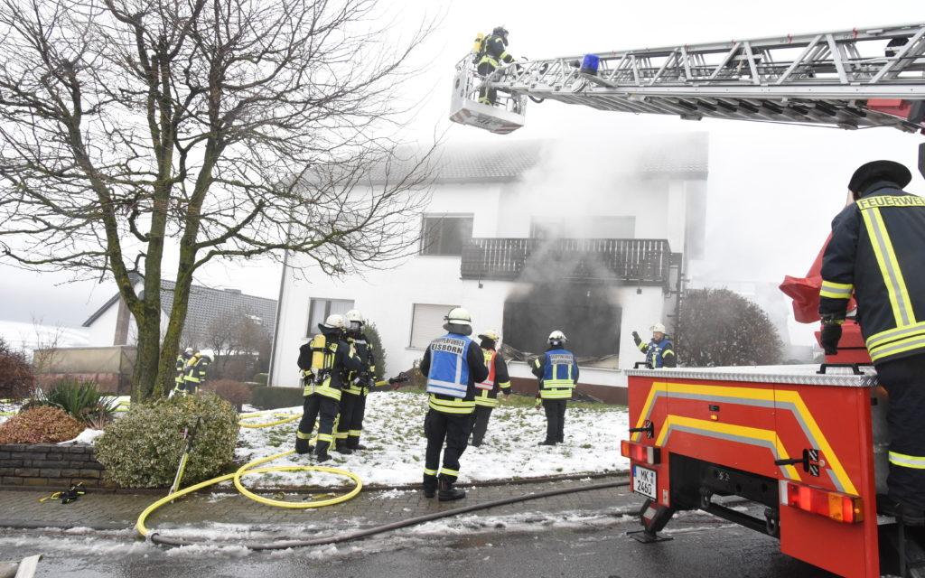 Bilder vom Großeinsatz der Feuerwehr in Beckum