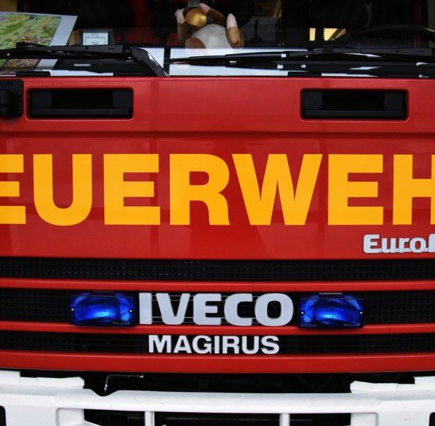 Blitzeinsatz für die Feuerwehr