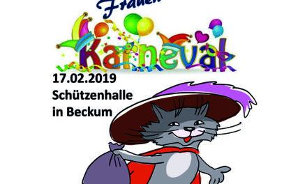 """Beckumer Frauen laden zum """"märchenhaften"""" Karneval"""