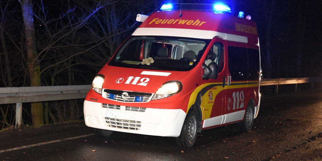 """Sturmtief """"Dragi"""": Balver Feuerwehr im Hönnetal im Einsatz"""