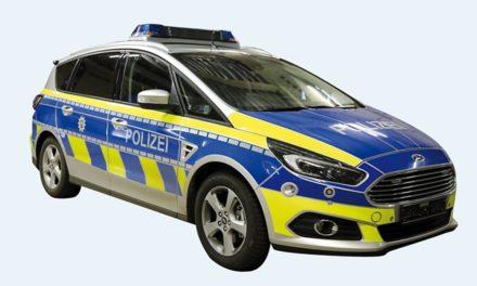 Polizei taucht kürzlich mit neuer Streifenwagenflotte auf