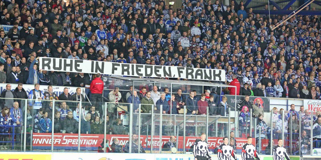 Iserlohn Roosters trauern um Betreuer Frank Polter – Niederlage zum Abschluss