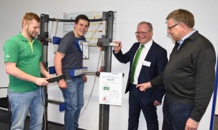 Firma Rickmeier: Gesundheitstag ein voller Erfolg