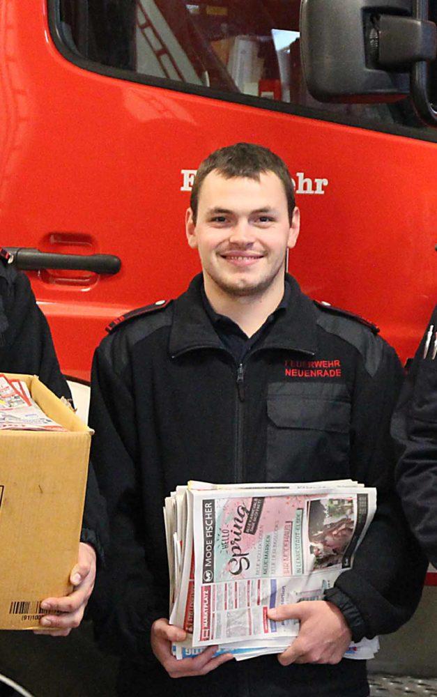 Weiter fleißig Altpapier für Neuenrader Feuerwehr sammeln