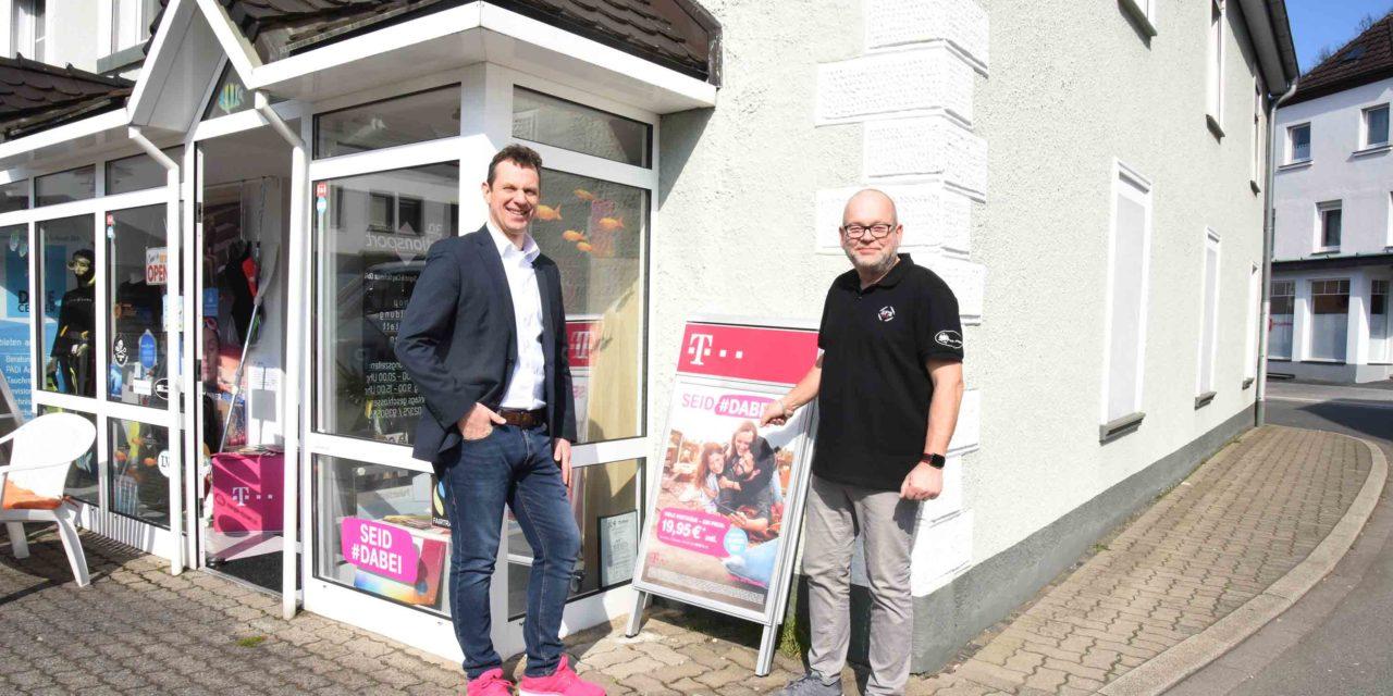 Paukenschlag: Ab 2. April Telekom-Shop und schnelles Internet in Balve