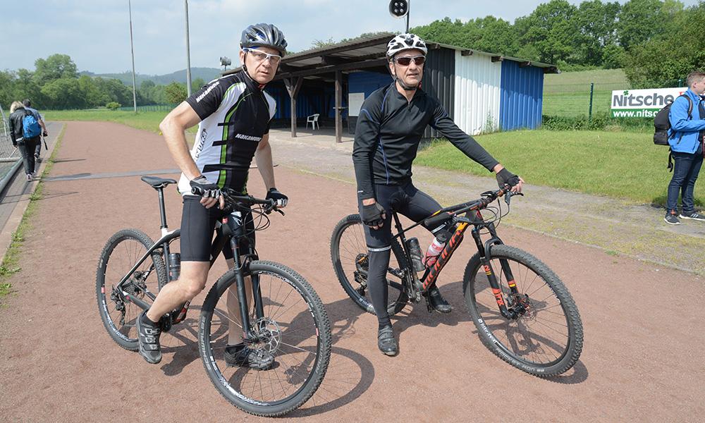 Samstag: Jungfernfahrt der SGV Mountainbike-Gruppe