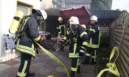 Feuer in der Garbecker Straße