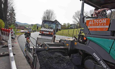 Bauarbeiten auf B 229 gehen sehr gut voran – Kreuzung bald wieder offen